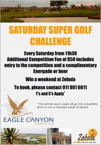 Saturday Super Golf Challenge