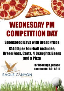 Wednesday Pizza and Beer Special_EagleCanyon