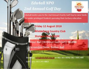 Flyer - Edu4AllGolfDay