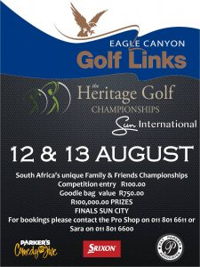 Flyer - The Heritage Golf Championships