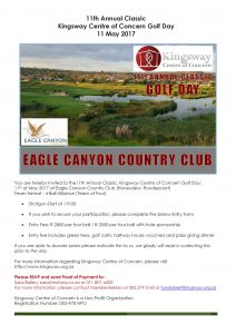 Flyer - Kingsway Golf Day