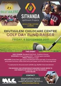 Flyer - Sithanda Upliftment Projects Golf Day